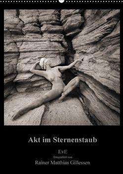 Akt im Sternenstaub EvE fotografiert von Rainer Matthias Gillessen (Wandkalender 2018 DIN A2 hoch) von L.,  Eva, MG,  Rainer