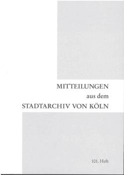 Akten der Kulturverwaltung der Stadt Köln / Akten der Kulturverwaltung der Stadt Köln 1880 – 1930 von Kleinertz,  Everhard
