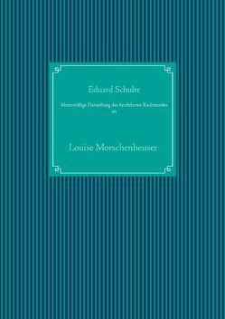 Aktenmäßige Darstellung des furchtbaren Raubmordes an von Schulte,  Eduard, UG,  Nachdruck