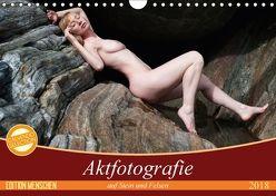 Aktfotografie auf Stein und FelsenCH-Version (Wandkalender 2018 DIN A4 quer) von Geiser,  Judith