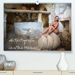 Aktfotografie in alten Mühlen (Premium, hochwertiger DIN A2 Wandkalender 2020, Kunstdruck in Hochglanz) von Geiser,  Judith