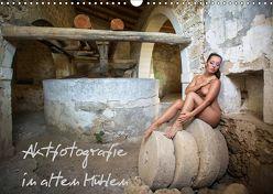 Aktfotografie in alten Mühlen (Wandkalender 2018 DIN A3 quer) von Geiser,  Judith