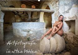 Aktfotografie in alten Mühlen (Wandkalender 2021 DIN A2 quer) von Geiser,  Judith