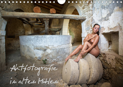Aktfotografie in alten Mühlen (Wandkalender 2021 DIN A4 quer) von Geiser,  Judith