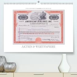 Aktien & Wertpapiere / CH-Version (Premium, hochwertiger DIN A2 Wandkalender 2020, Kunstdruck in Hochglanz) von Gerlach,  Ingo