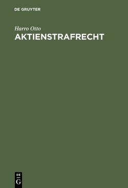 Aktienstrafrecht von Otto,  Harro