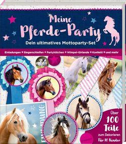 Aktivbuch – Meine Pferde-Party von Roß,  Thea, Slawik,  Christiane
