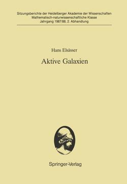 Aktive Galaxien von Elsässer,  Hans