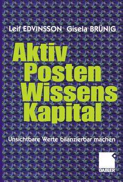 Aktivposten Wissenskapital von Brünig,  Gisela, Edvinsson,  Leif