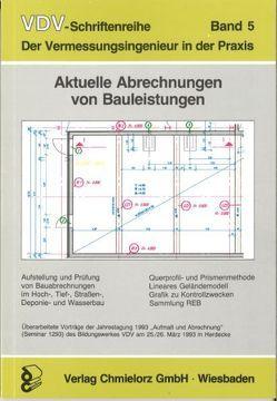 Aktuelle Abrechnung von Bauleistungen von Kemper,  Nikolaus, Klemp,  Dieter, Klitzing,  Eckart von