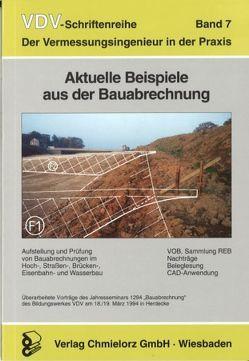 Aktuelle Beispiele aus der Bauabrechnung von Klemp,  Dieter, Ohlert,  Diethelm