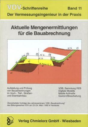 Aktuelle Mengenermittlungen für die Bauabrechnung von Klemp,  Dieter