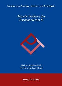 Aktuelle Probleme des Eisenbahnrechts XI von Ronellenfitsch,  Michael, Schweinsberg,  Ralf