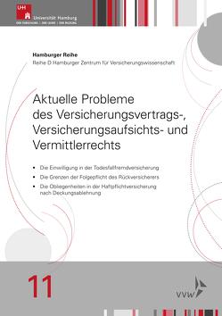 Aktuelle Probleme des Versicherungsvertrags-, Versicherungsaufsichts- und Vermittlerrechts von Koch,  Robert