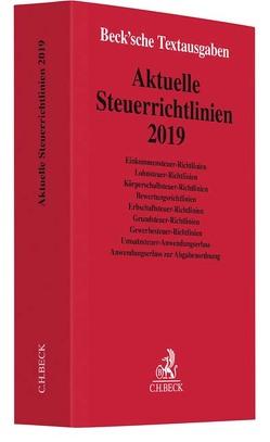 Aktuelle Steuerrichtlinien 2019