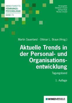 Aktuelle Trends in der Personal- und Organisationsentwicklung von Braun,  Ottmar L., Crisand,  Ekkehard, Crisand,  Nicolas, Raab,  Gerhard, Sauerland,  Martin
