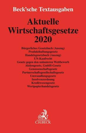 Aktuelle Wirtschaftsgesetze 2020
