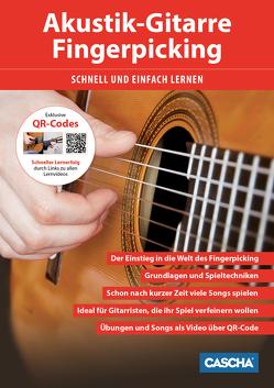 Akustik-Gitarre Fingerpicking – Schnell und einfach lernen + DVD