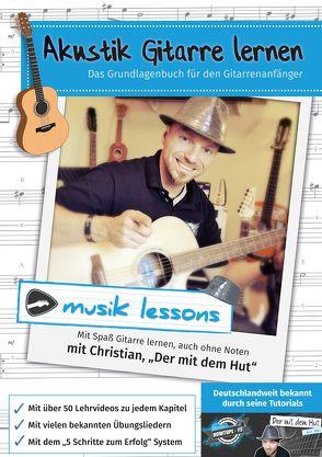 Akustik-Gitarre lernen von Stadtler, Christian