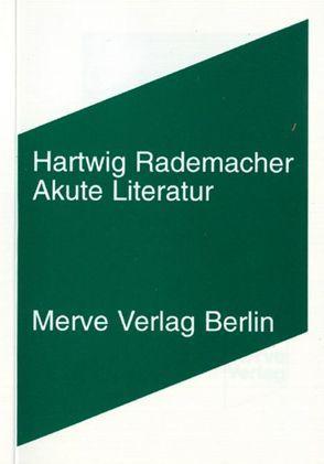 Akute Literatur von Rademacher,  Hartwig