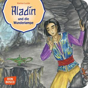 Aladin und die Wunderlampe. Mini-Bilderbuch. von Grünwald,  Karina