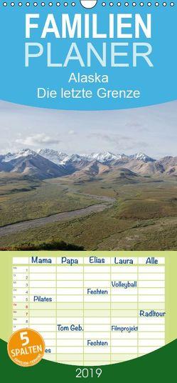 Alaska – Die letzte Grenze – Familienplaner hoch (Wandkalender 2019 , 21 cm x 45 cm, hoch) von Niehüser,  Timo