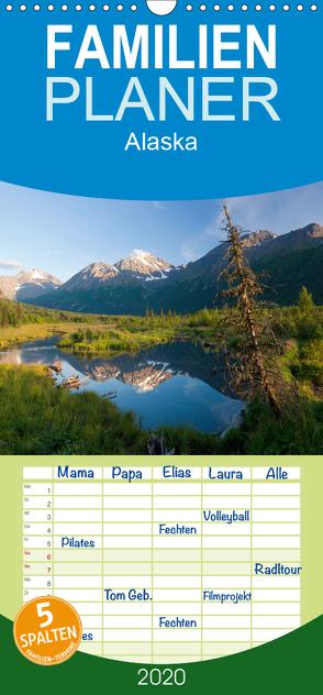 Alaska – Familienplaner hoch (Wandkalender 2020 , 21 cm x 45 cm, hoch) von kalender365.com