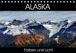 Alaska – Farben und Licht (Tischkalender 2021 DIN A5 quer) von Gerber,  Thomas
