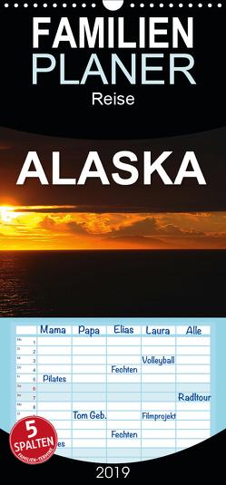 ALASKA und die Aleuten – Familienplaner hoch (Wandkalender 2019 , 21 cm x 45 cm, hoch) von Pfaff,  Hans-Gerhard