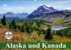 Alaska und Kanada (Wandkalender 2019 DIN A2 quer) von Stanzer,  Elisabeth