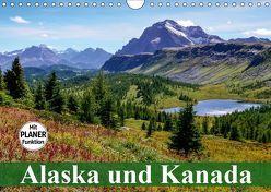 Alaska und Kanada (Wandkalender 2019 DIN A4 quer) von Stanzer,  Elisabeth