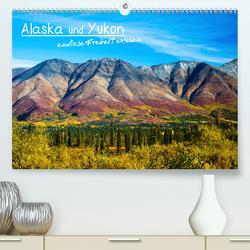 Alaska und Yukon, endlose Freiheit erleben (Premium, hochwertiger DIN A2 Wandkalender 2020, Kunstdruck in Hochglanz) von Jost,  Sabine