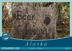 Alaska – Verbote – Gebote (Tischkalender 2019 DIN A5 quer) von Flori0