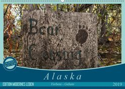 Alaska – Verbote – Gebote (Wandkalender 2019 DIN A2 quer)