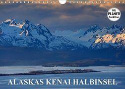 ALASKAS KENAI HALBINSEL (Wandkalender 2019 DIN A4 quer)