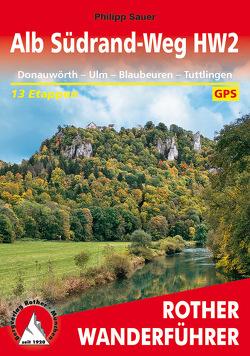 Alb Südrand-Weg HW2 von Sauer,  Philipp