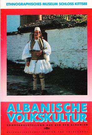 Albanische Volkskultur von Beitl,  Klaus