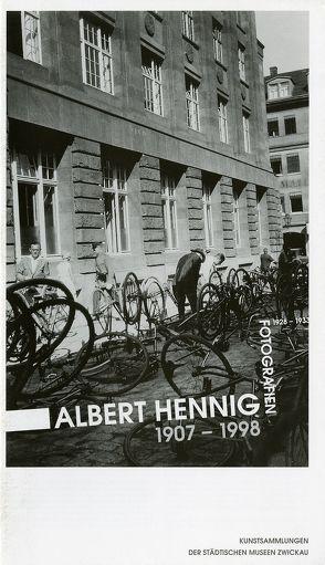 Albert Hennig 1907-1998. Fotografien von Hesse,  Wolfgang