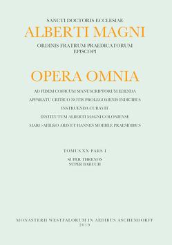Alberti Magni Opera Omnia von Meyer,  Ruth