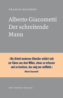 Alberto Giacometti von Maubert,  Franck, Moldenhauer,  Eva
