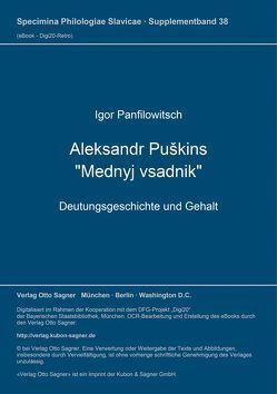 """Aleksandr Puškins """"Mednyj vsadnik"""" von Panfilowitsch,  Igor"""