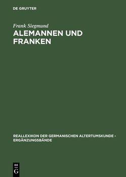 Alemannen und Franken von Siegmund,  Frank