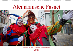 Alemannische Fasnet – Lust auf NaTour (Wandkalender 2021 DIN A2 quer) von Riedmiller,  Andreas