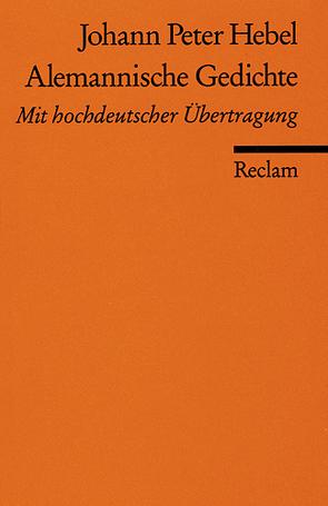Alemannische Gedichte von Gäng,  Richard, Hebel,  Johann P, Zentner,  Wilhelm