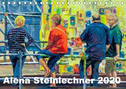 Alena Steinlechner, Acryl auf Leinwand (Tischkalender 2020 DIN A5 quer) von Steinlechner,  Alena