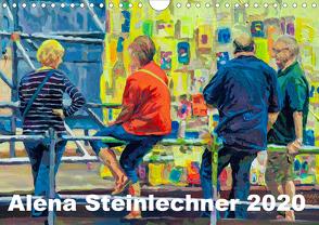 Alena Steinlechner, Acryl auf Leinwand (Wandkalender 2020 DIN A4 quer) von Steinlechner,  Alena