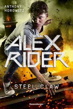 Alex Rider, Band 10: Steel Claw von Horowitz,  Anthony, Ströle,  Wolfram