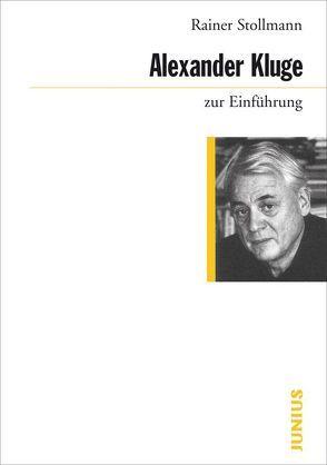 Alexander Kluge zur Einführung von Stollmann,  Rainer