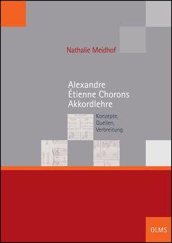 Alexandre Étienne Chorons Akkordlehre von Meidhof,  Nathalie