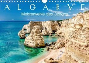 Algarve – Meisterwerke des Ozeans (Wandkalender 2018 DIN A4 quer) von Meyer,  Dieter